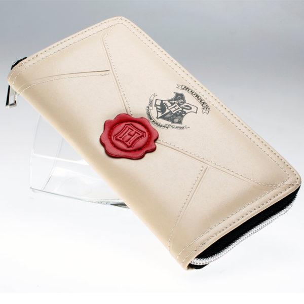 Porte monnaie Harry Potter crème sur fond blanc