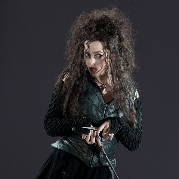 Bellatrix Lestrange - De face - A découvrir sur Wingardium Leviosa
