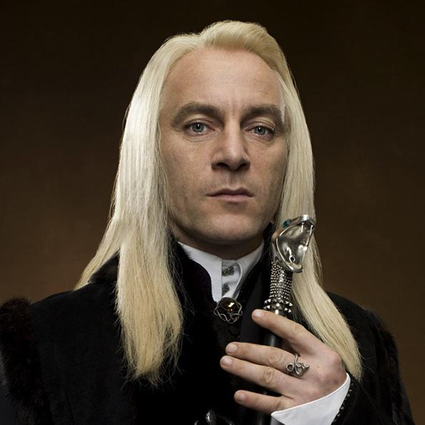 Lucius Malfoy - De face - A découvrir sur Wingardium Leviosa
