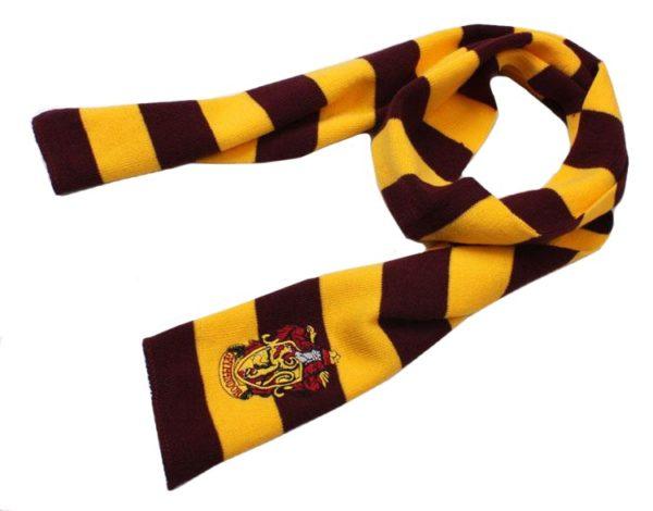 Déguisement Harry Potter - écharpe Gryffondor sur fond blanc