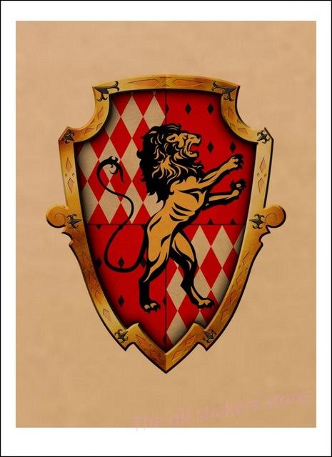 Affiche Gryffondor - Harry Potter