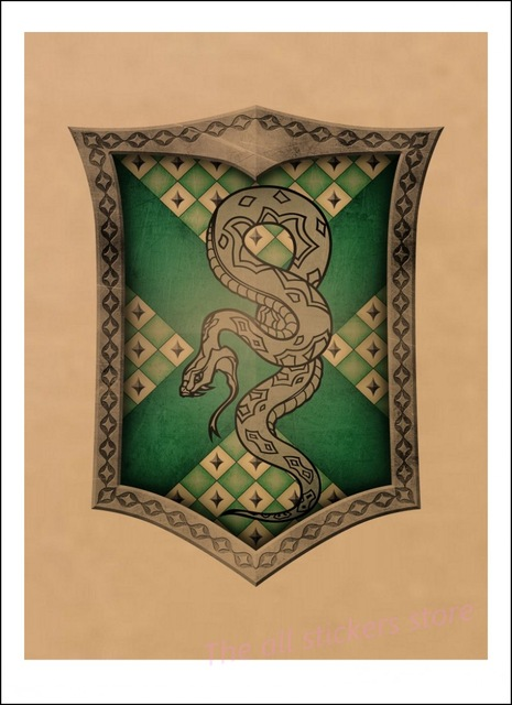 Affiche Serpentard - Harry Potter
