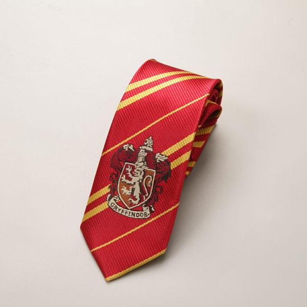 Cravate Gryffondor - Gryffindor sur fond blanc
