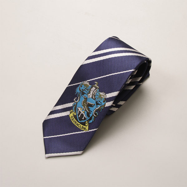 Cravate Serdaigle - Ravenclaw sur fond blanc