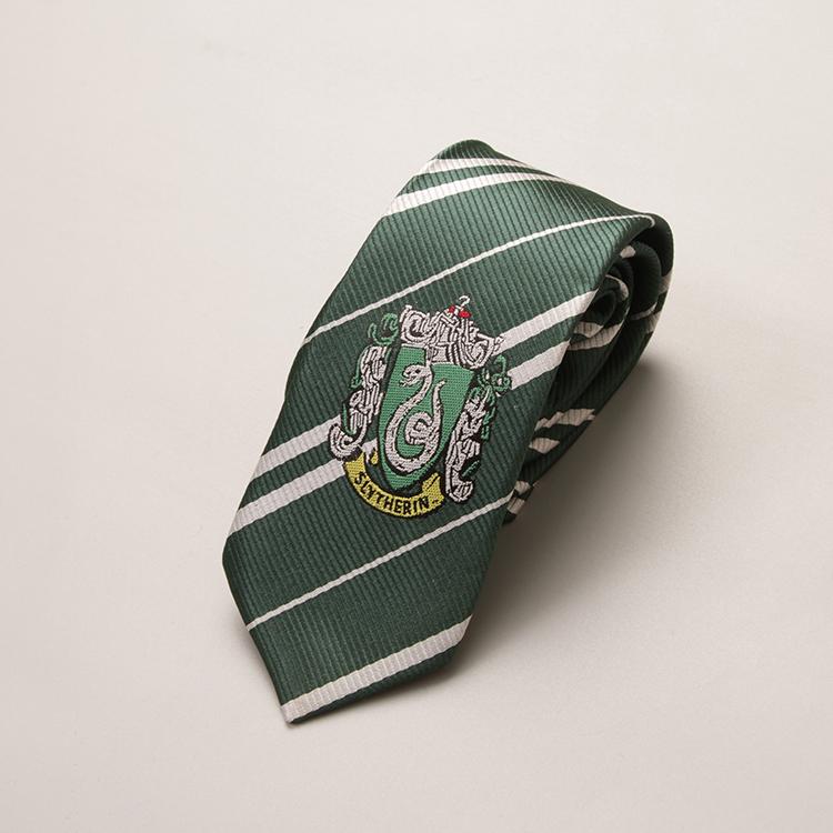 comment choisir luxuriant dans la conception vente chaude en ligne Cravates des 4 maisons de Poudlard - Harry Potter