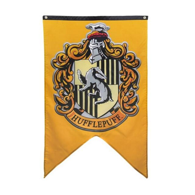 Drapeaux des 4 maisons de Poudlard - Harry Potter ...
