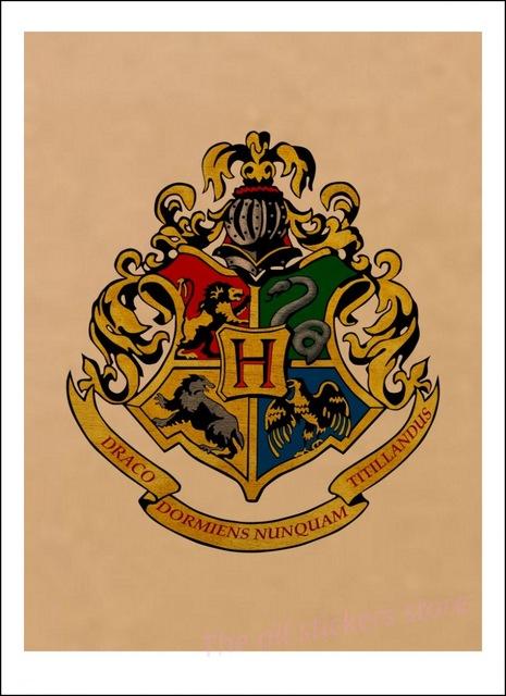 Affiche Poudlard - Harry Potter