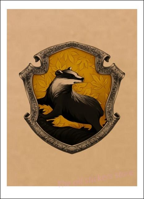 Affiche Poufsouffle - Harry Potter